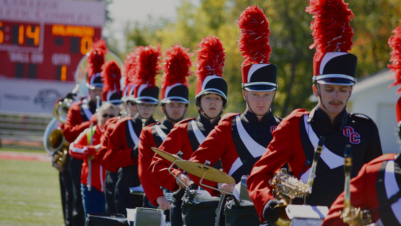 Olivet College Marching Comets to Perform in Marshall Holiday Parade Dec. 2