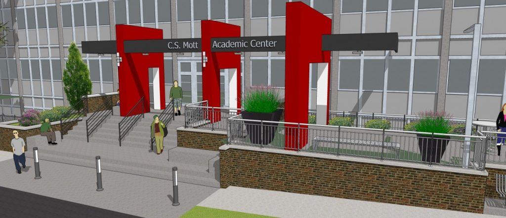 Olivet Campus Map.Mott Academic Center Renovations Coming With Comprehensive Campaign