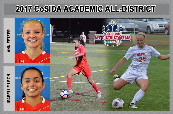 Two Comets Named to Academic All-District VI Women's Soccer Team