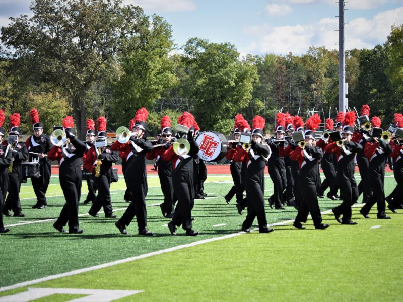 Eight Marching Comets Selected for Intercollegiate Marching Band