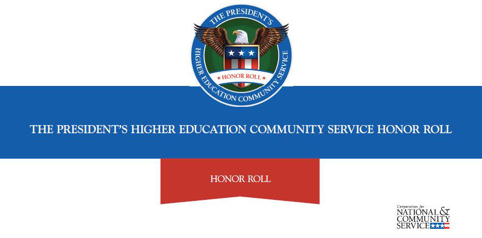 Olivet College earns place on national honor roll for community service