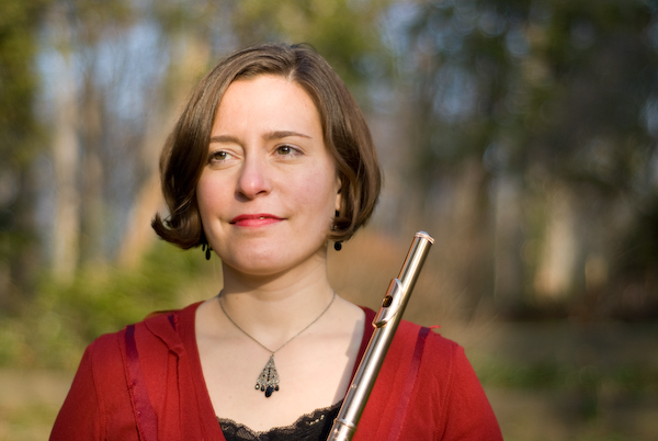 Flutist Tess Miller mixes words and music for upcoming recital at Olivet College